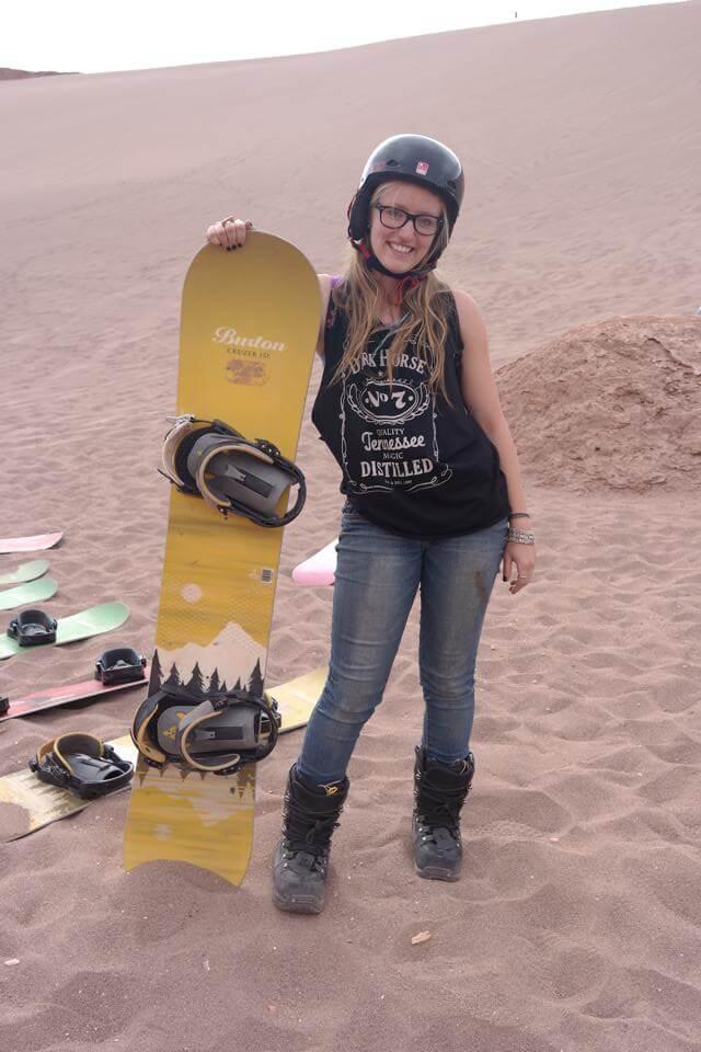 Sand Boarding in the Atacama Desert   San Pedro de Atacama