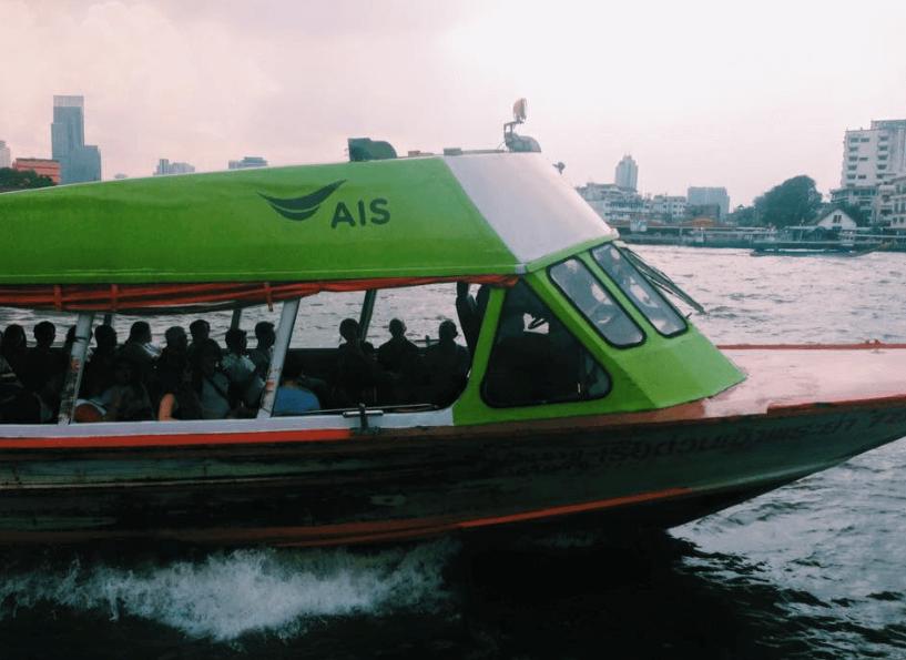 Ride a Water Taxi in Bangkok