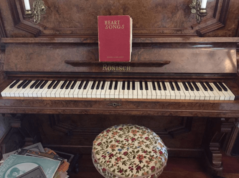 Emily Carr House Piano