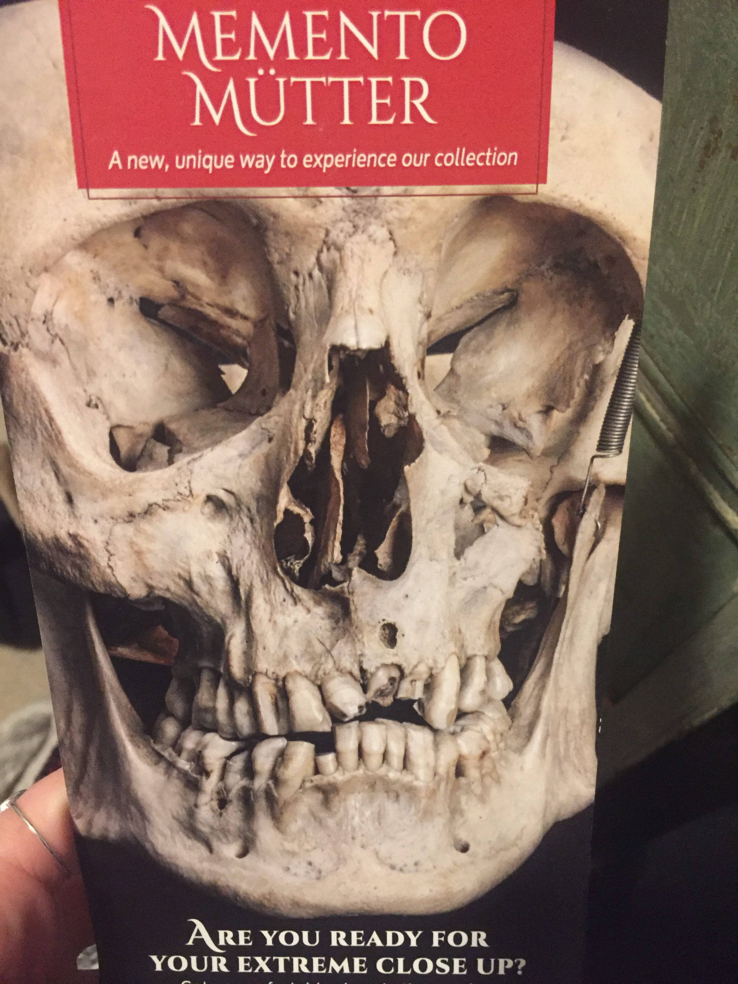 The Mutter Museum Brochure | Philadelphia Sightseeing