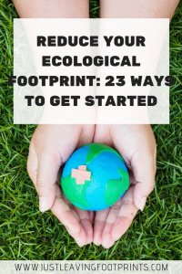 Reduce Your Ecological Footprint: 23 Ways to Get Started