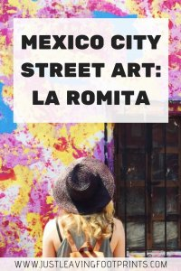 Mexico City Street Art: La Romita