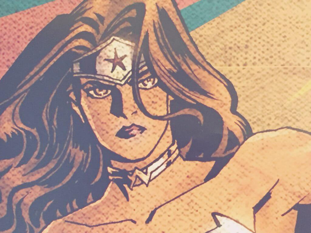 Wonder Woman Exhibit at the MUMEDI Mexico City