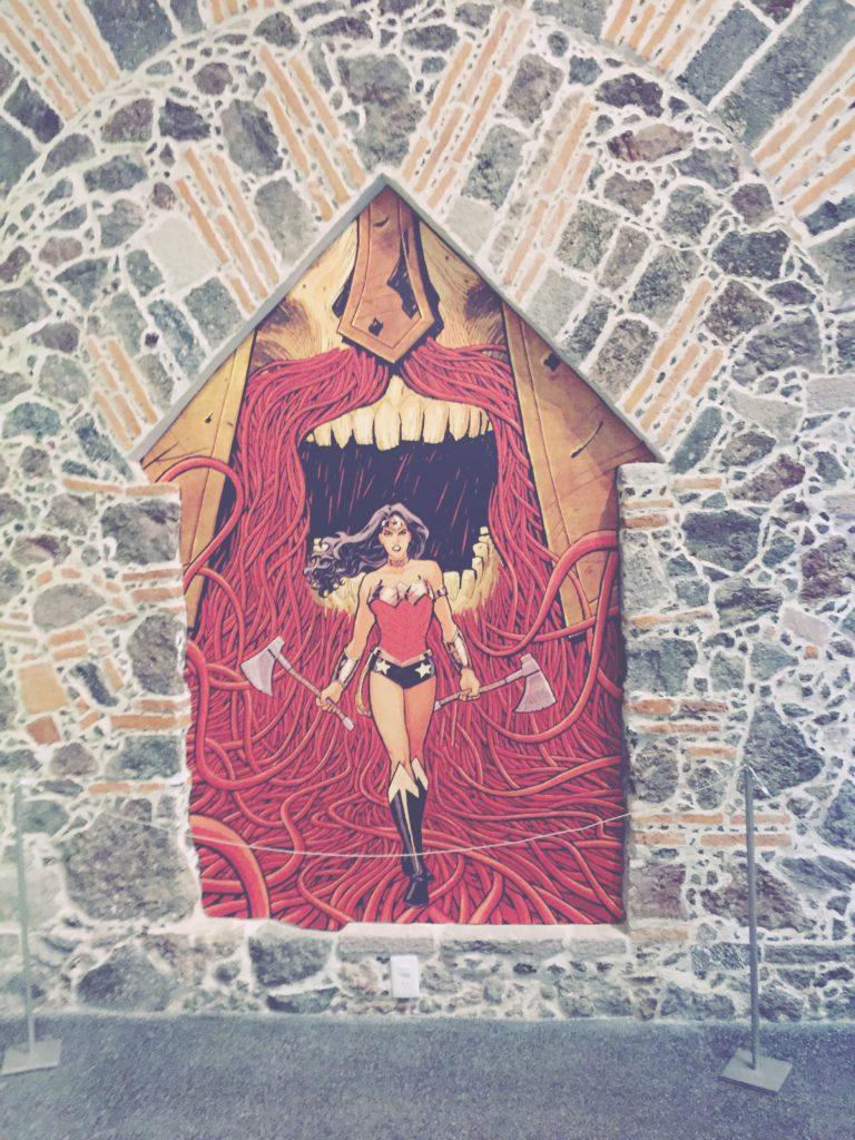 Wonder Woman Exhibit at the MUMEDI