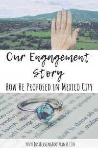 Our Engagement Story: How He Proposed in Mexico City
