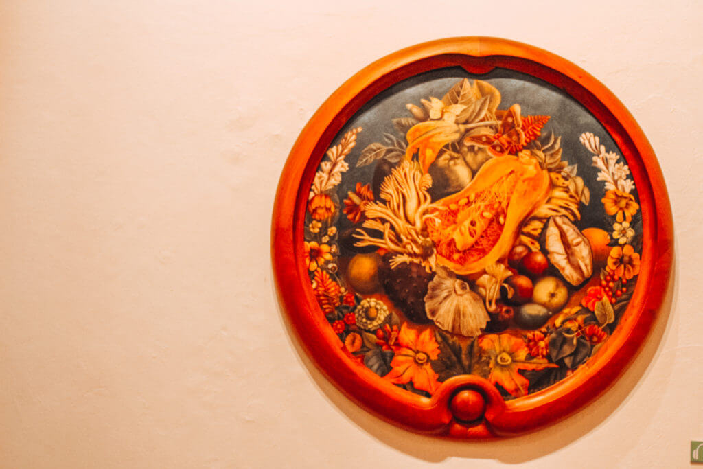 Frida Kahlo's House | Painting of Fruits