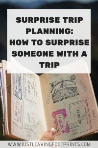 Surprise Trip Planning: How to Surprise Someone with a Trip