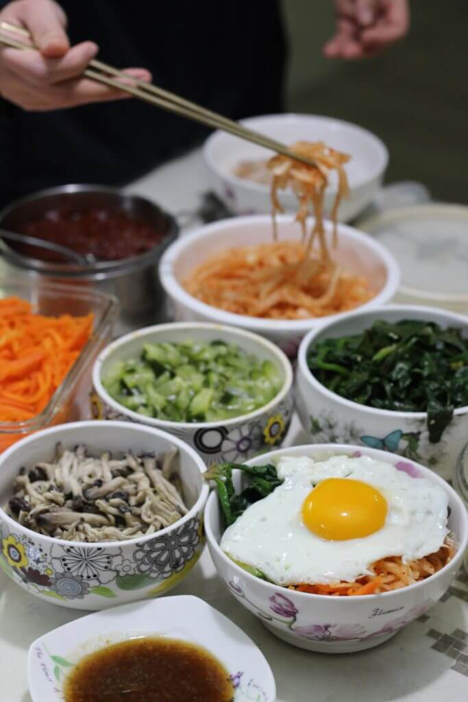 South Korean Bibimbap | Vegetarian & Vegan Dishes from Around the World