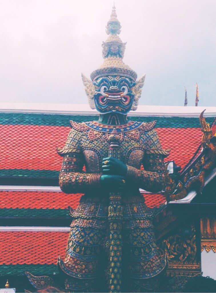 2 Days in Bangkok | King's Palace Statue