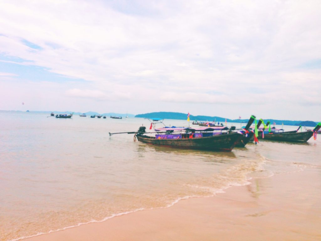 Boats on a Beach in Thailand