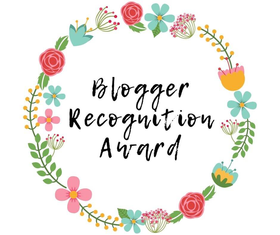 Blogger Recognition Award Recipient: Just Leaving Footprints