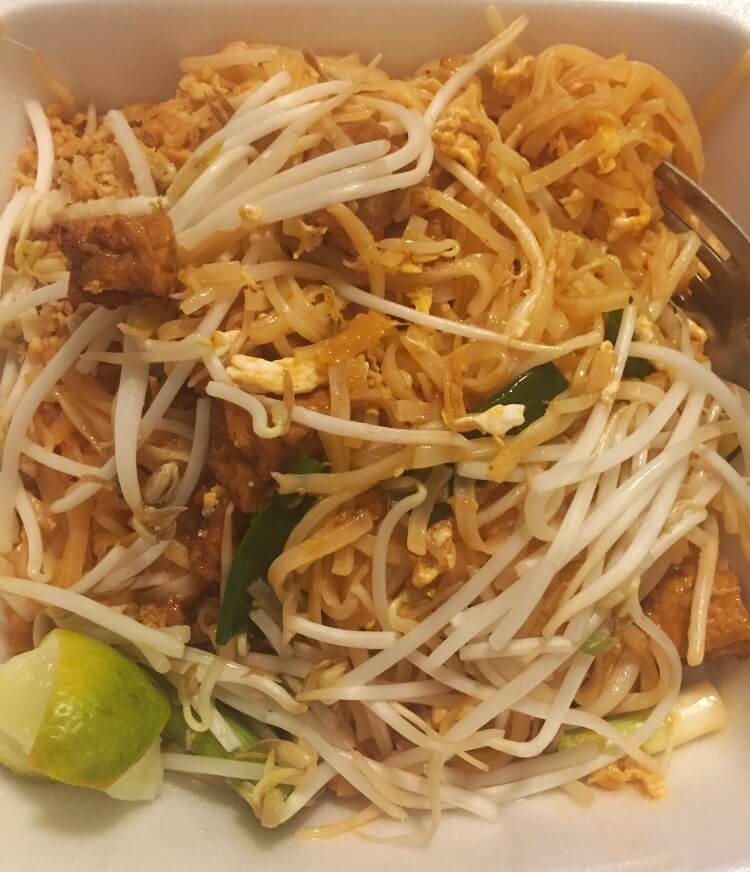 Pad Thai from Zabb Kelowna