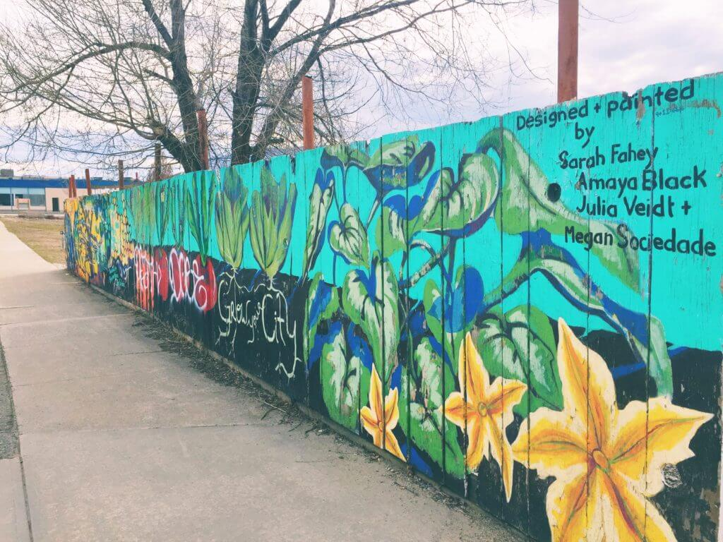 Fence Mural in Penticton