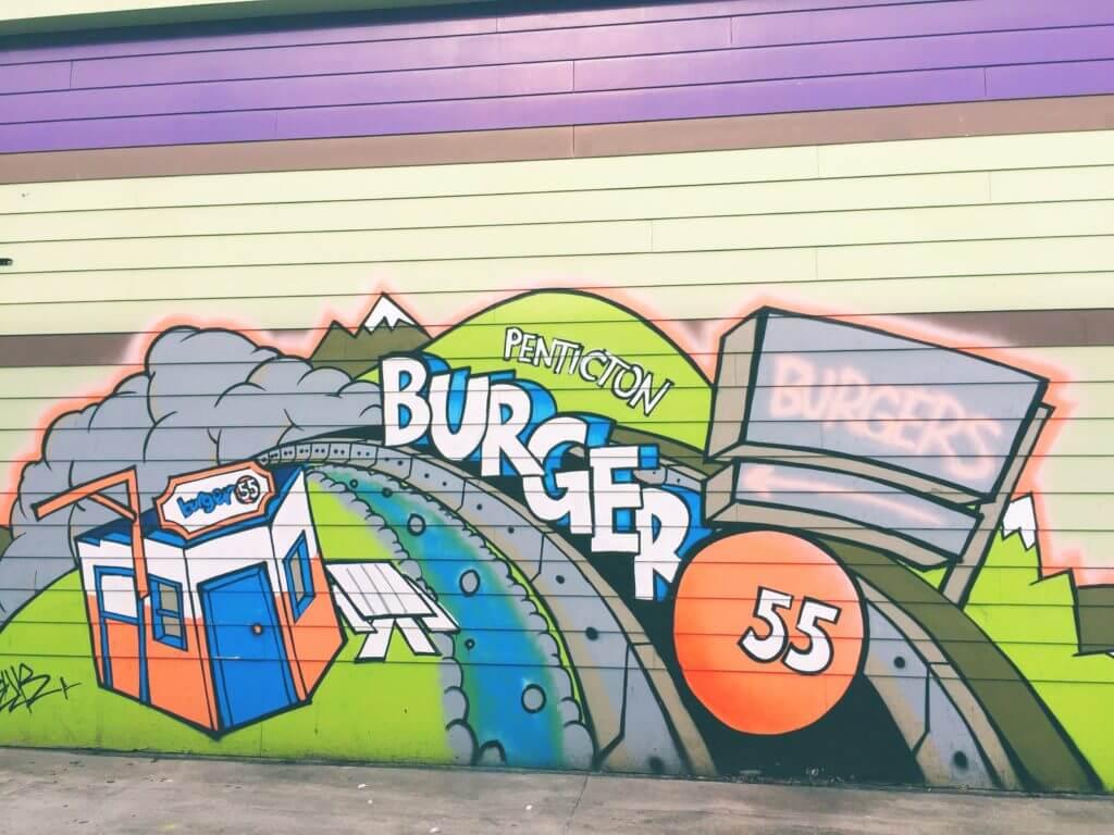 Cool Street Art in Penticton BC