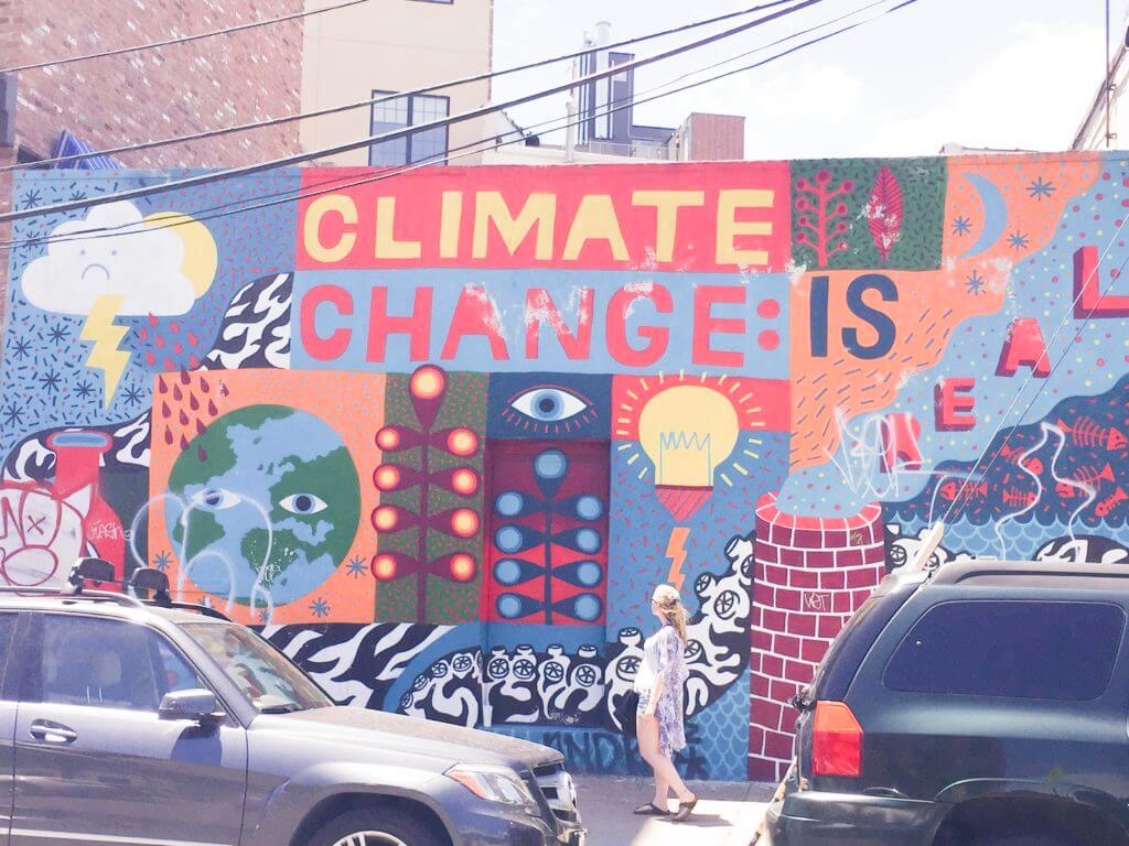 Climate Change is Real | Bushwick Street Art