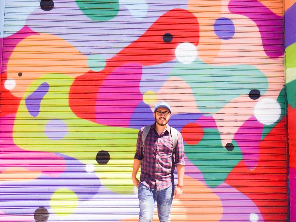 Bushwick Street Art | Colorful Mural