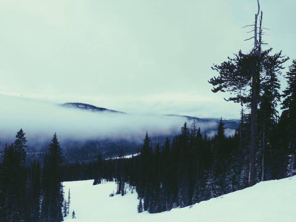 Skiing at Big White in Kelowna