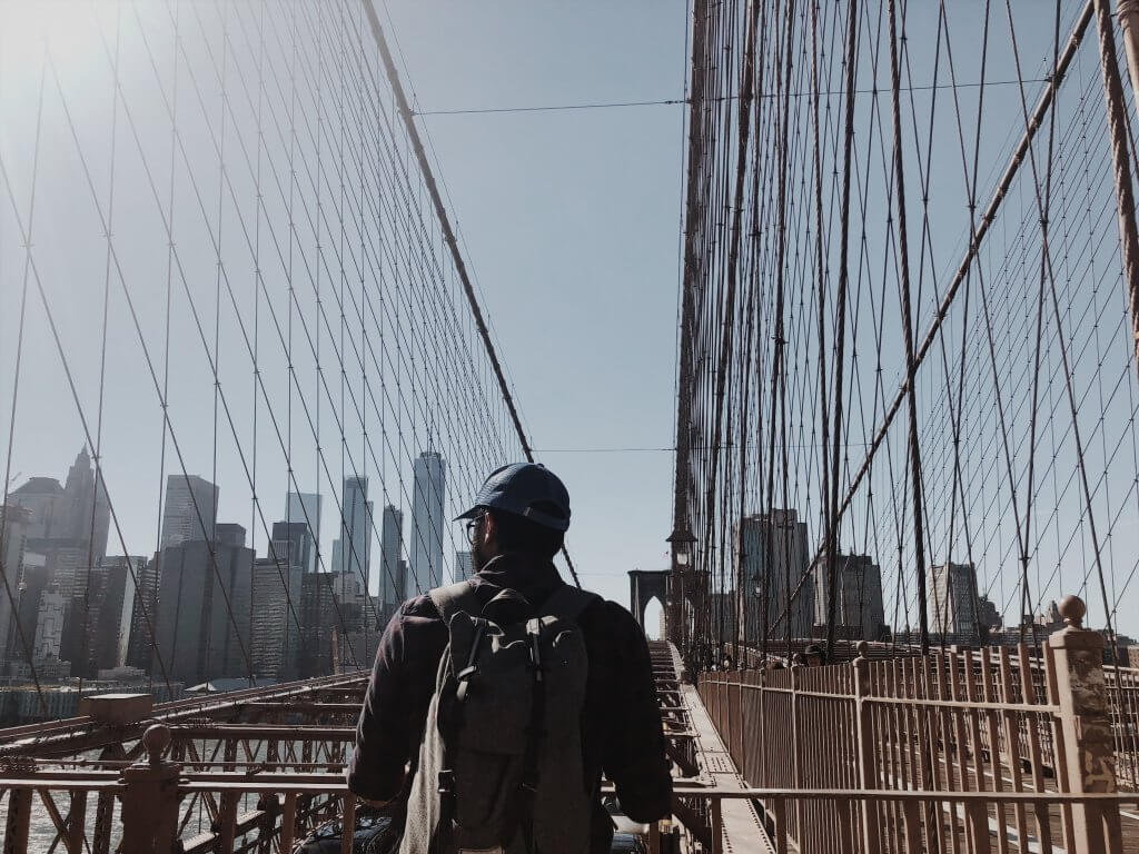 Brooklyn Bridge Views | Our NYC Honeymoon: A 4 Day NYC Itinerary