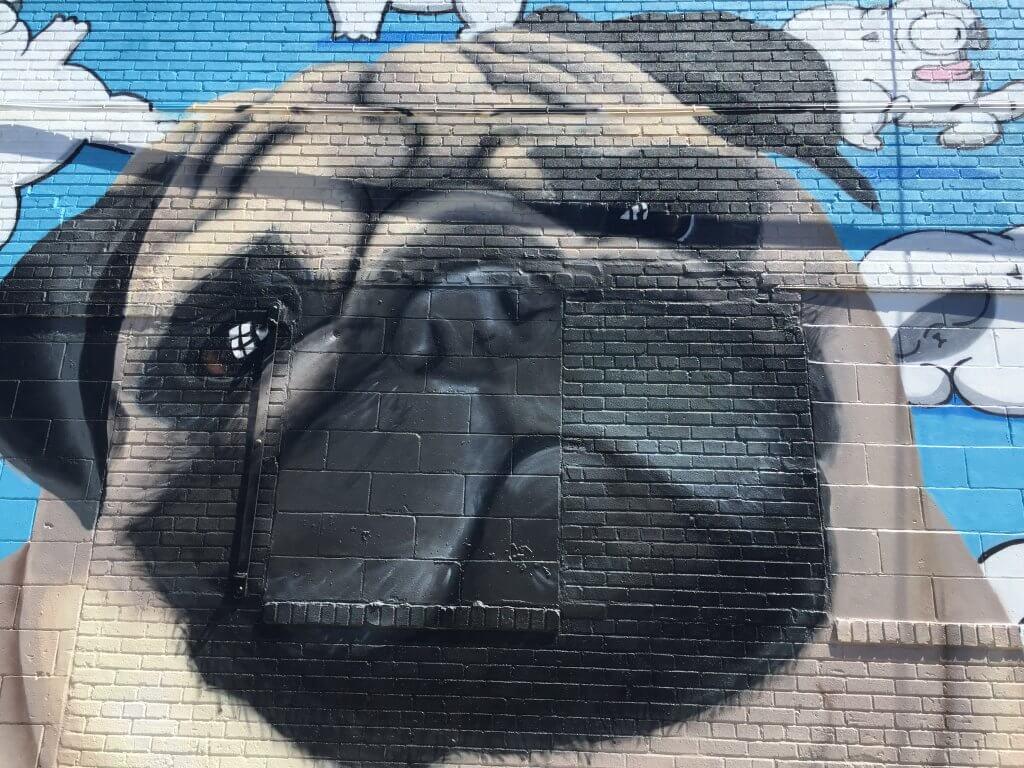 Bushwick Street Art Pug