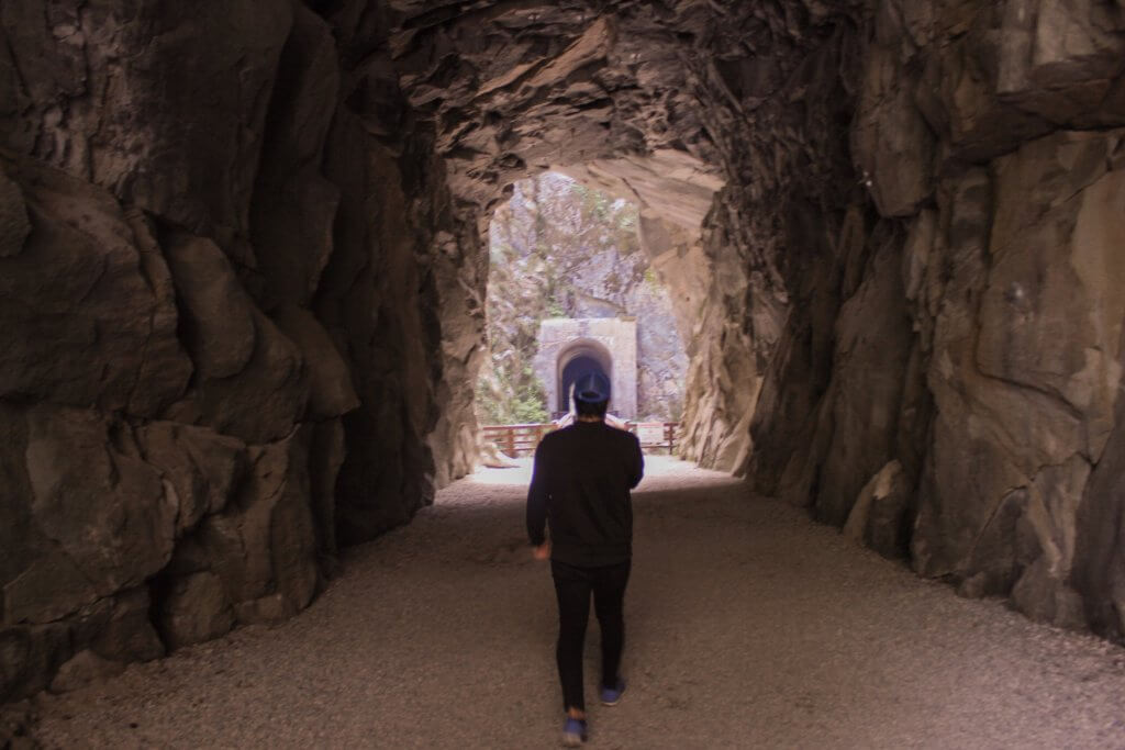 Visit the Othello Tunnels