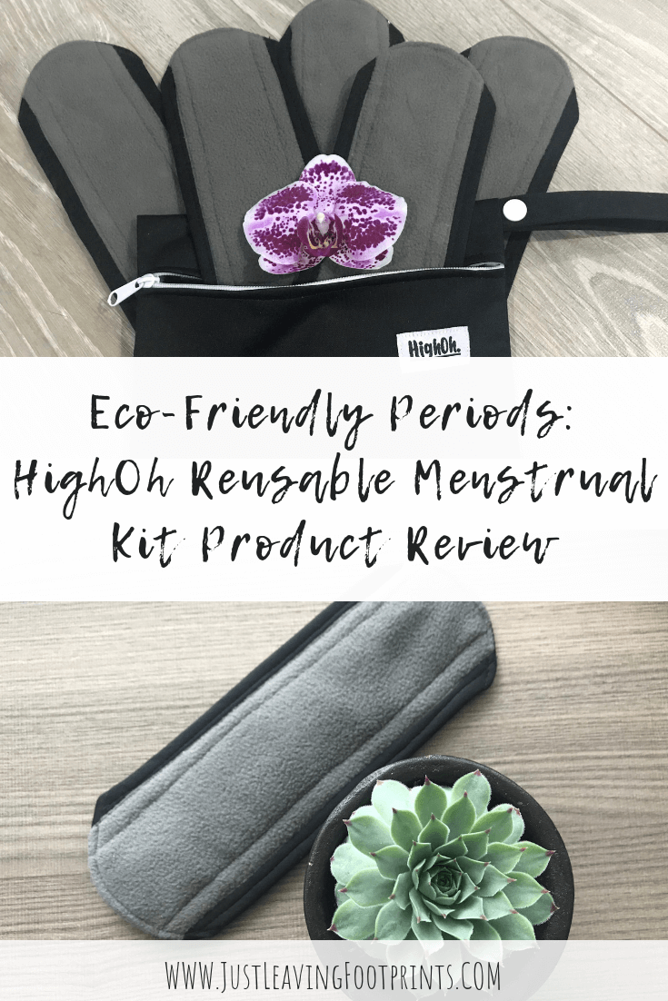 HighOh Reusable Menstrual Kit Product Review
