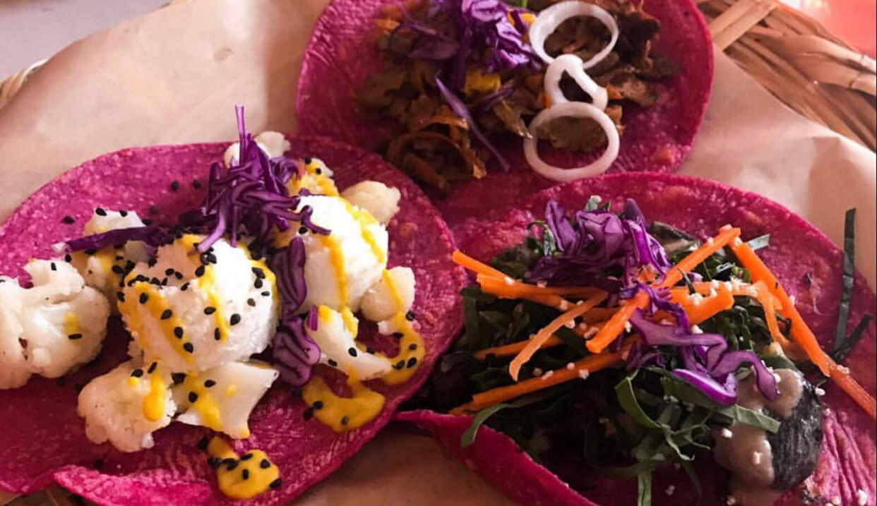 Pink Tacos | Gift Experiences | Vegan Restaurants in Mexico City