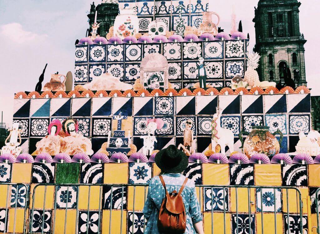 Ofrenda in the Zocalo | Day of the Dead in Mexico City