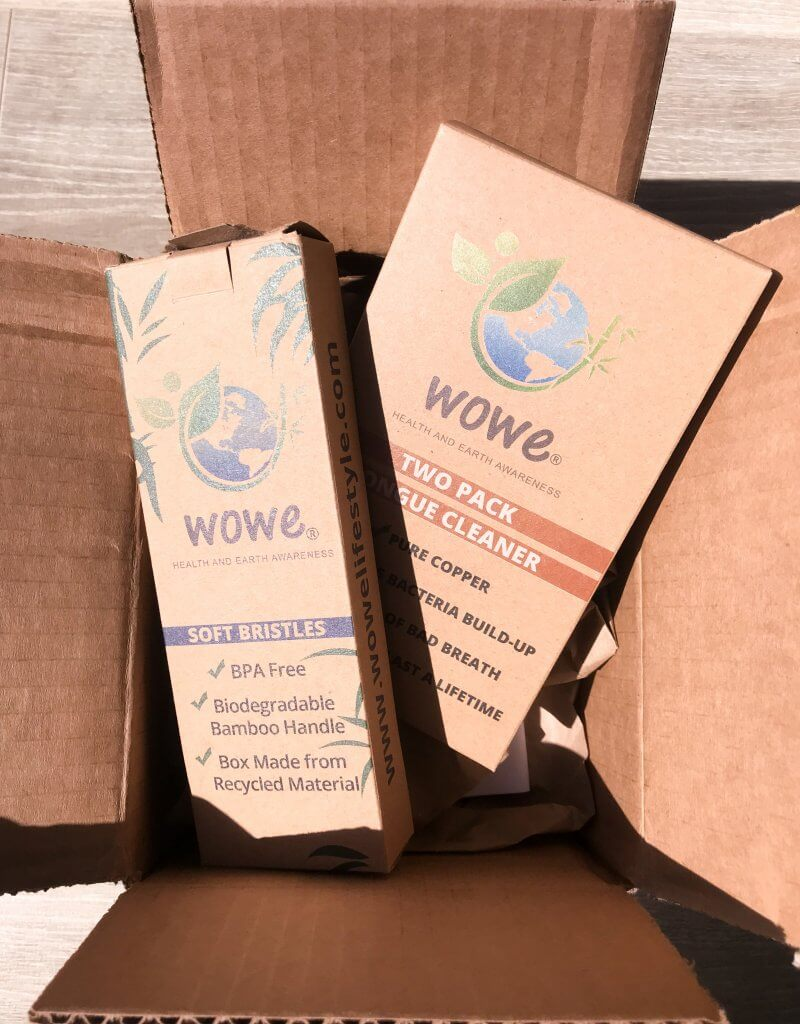 Sustainable Toothbrush   Plastic Free Packaging