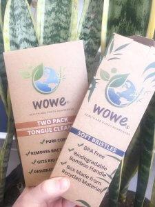 Sustainable Toothbrush   Plastic Free   Bamboo