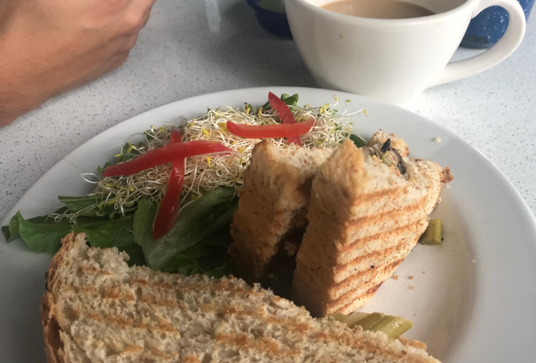 Peltre Sandwich | Vegan Restaurants in Mexico City