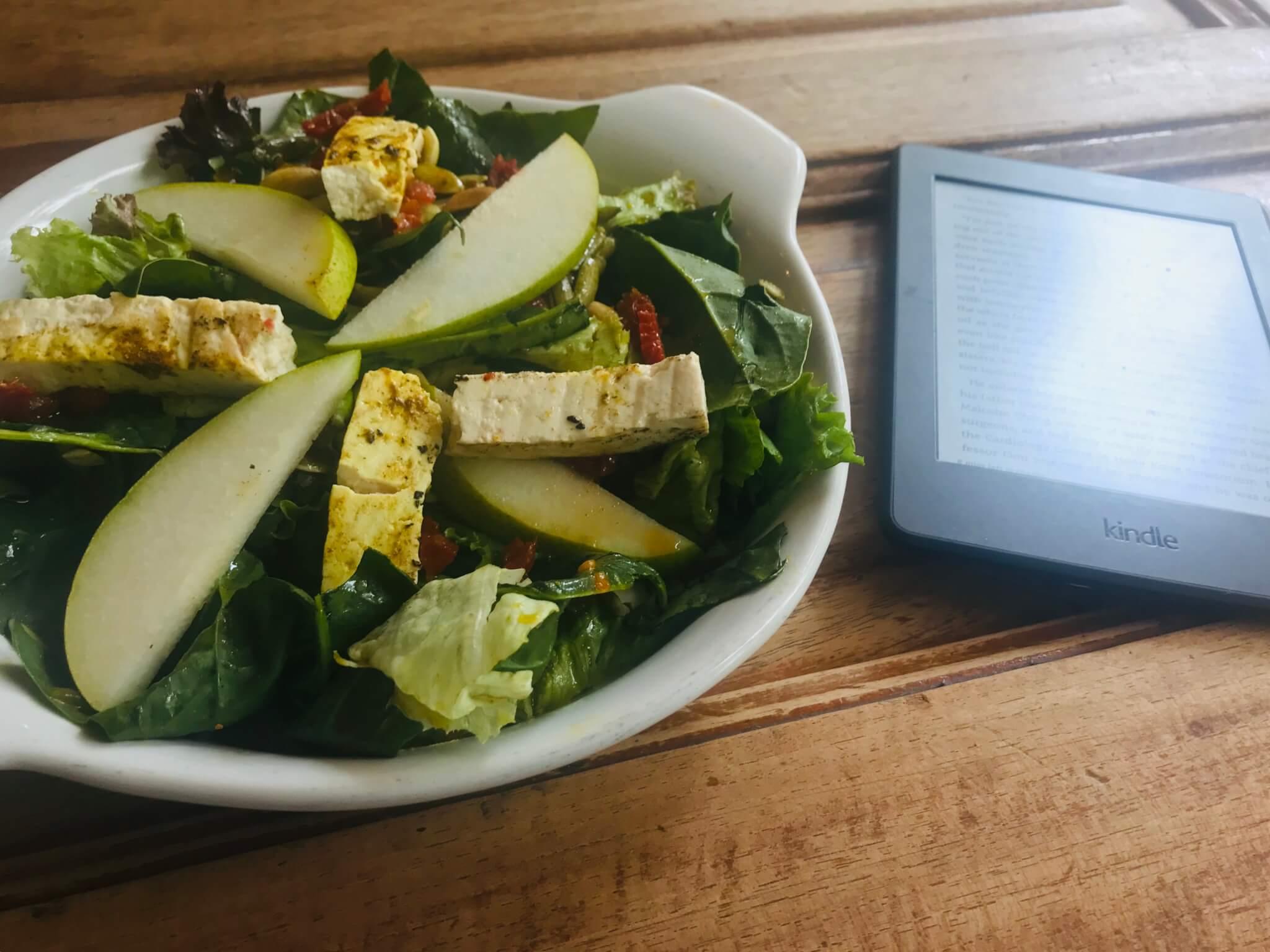 Pan Comido Salad | Vegan Restaurants in Mexico City