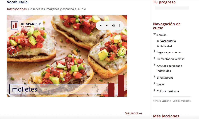 Molletes | Hi- Spanish Mexican Food Lesson