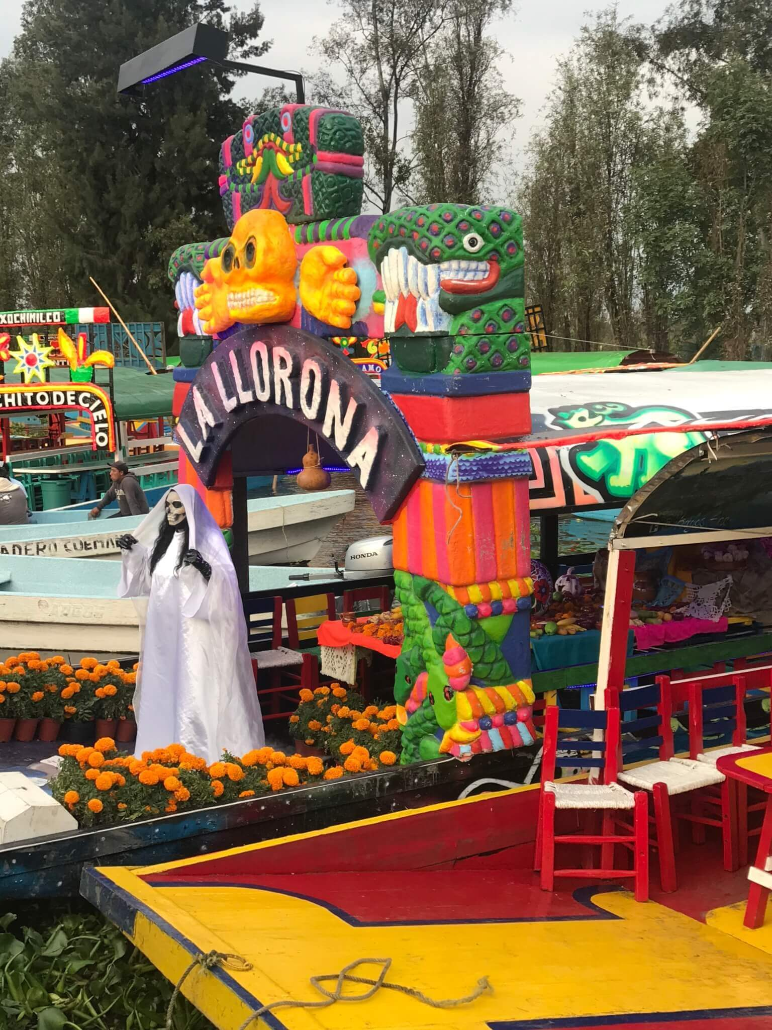 La Llorona Xochimilco, Day of the Dead