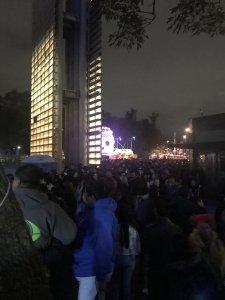 Line Up Outside Chapultepec Park