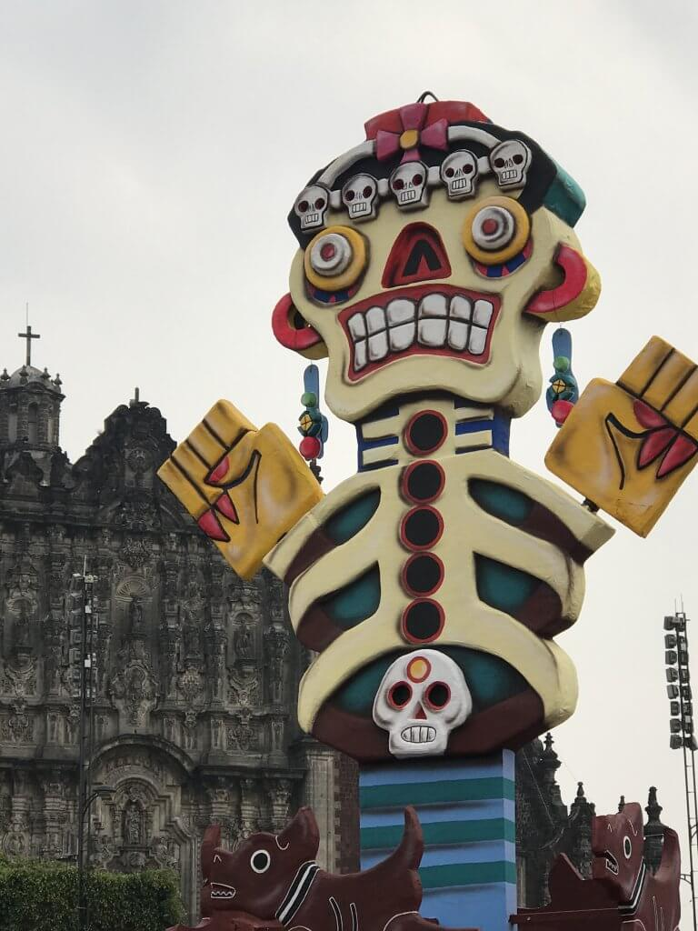 Day of the Dead in Mexico City | Skeleton Art