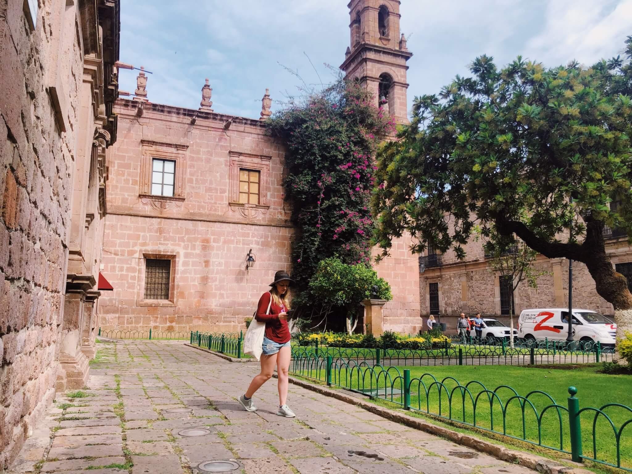 Visit Michoacán   Walking around Morelia