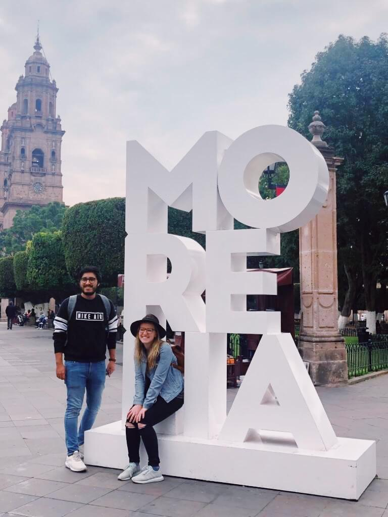 Visit Michoacán   Morelia Sign in Morelia Michoacán