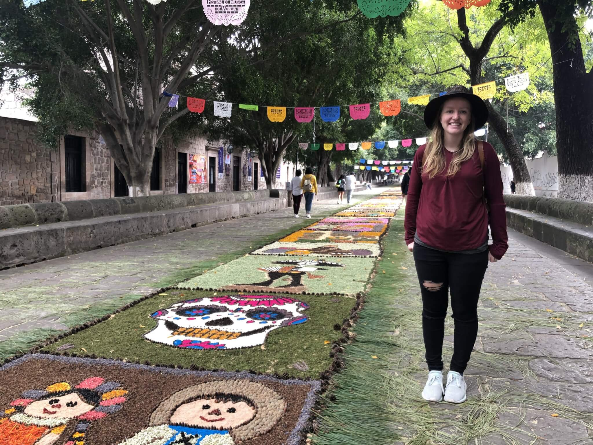 Visit Michoacán   Music Festival Floral Tapetes in Morelia