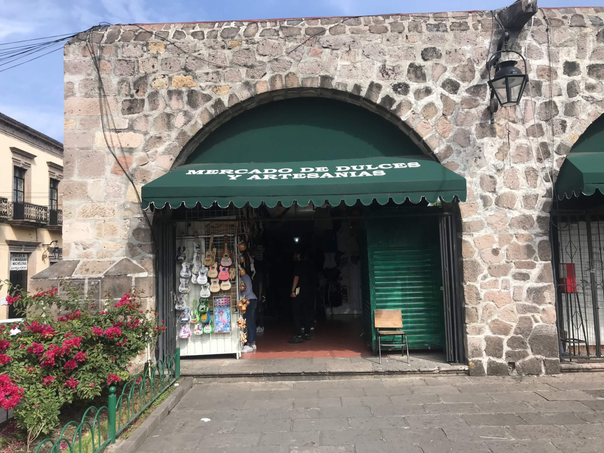 Visit Michoacán   Candy and Artisan Market in Morelia
