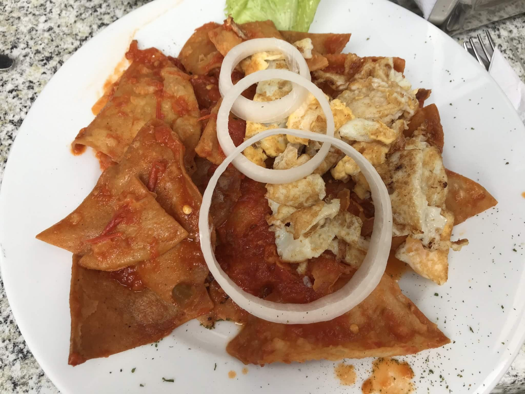 Visit Michoacán   Chilaquiles for Breakfast