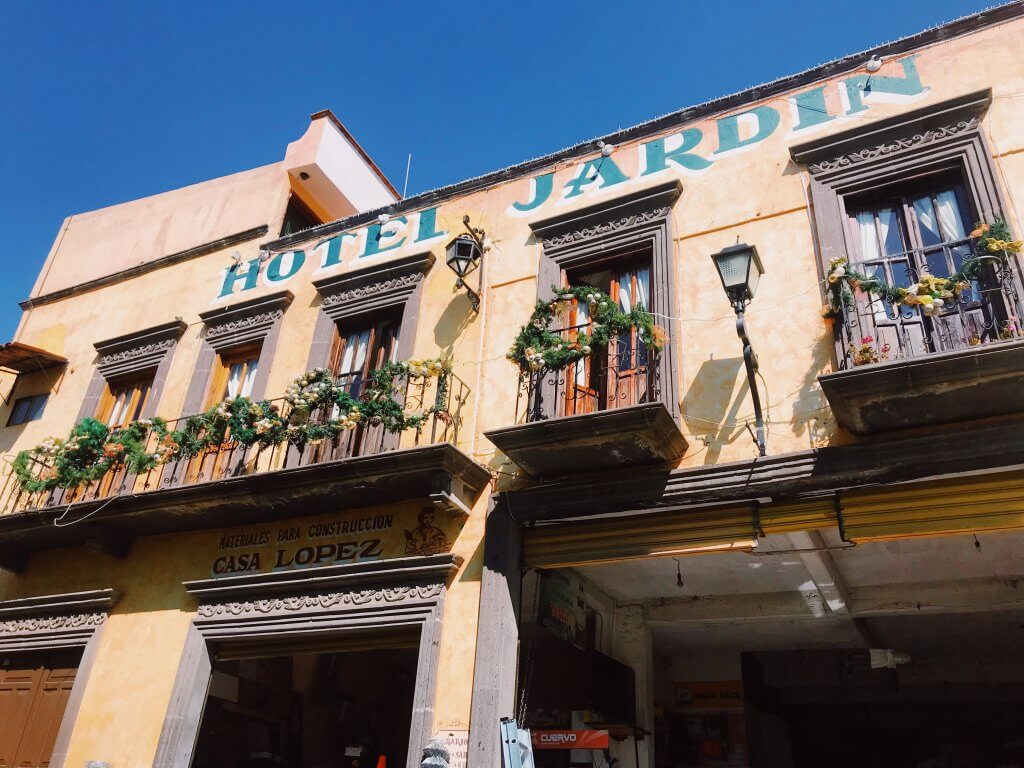 Hotel Jardin in Tlalpujahua Mexico