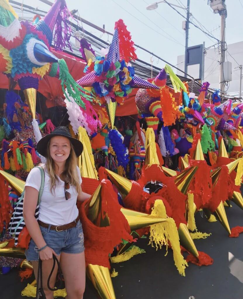 Christmas Piñatas | Christmas in Mexico City