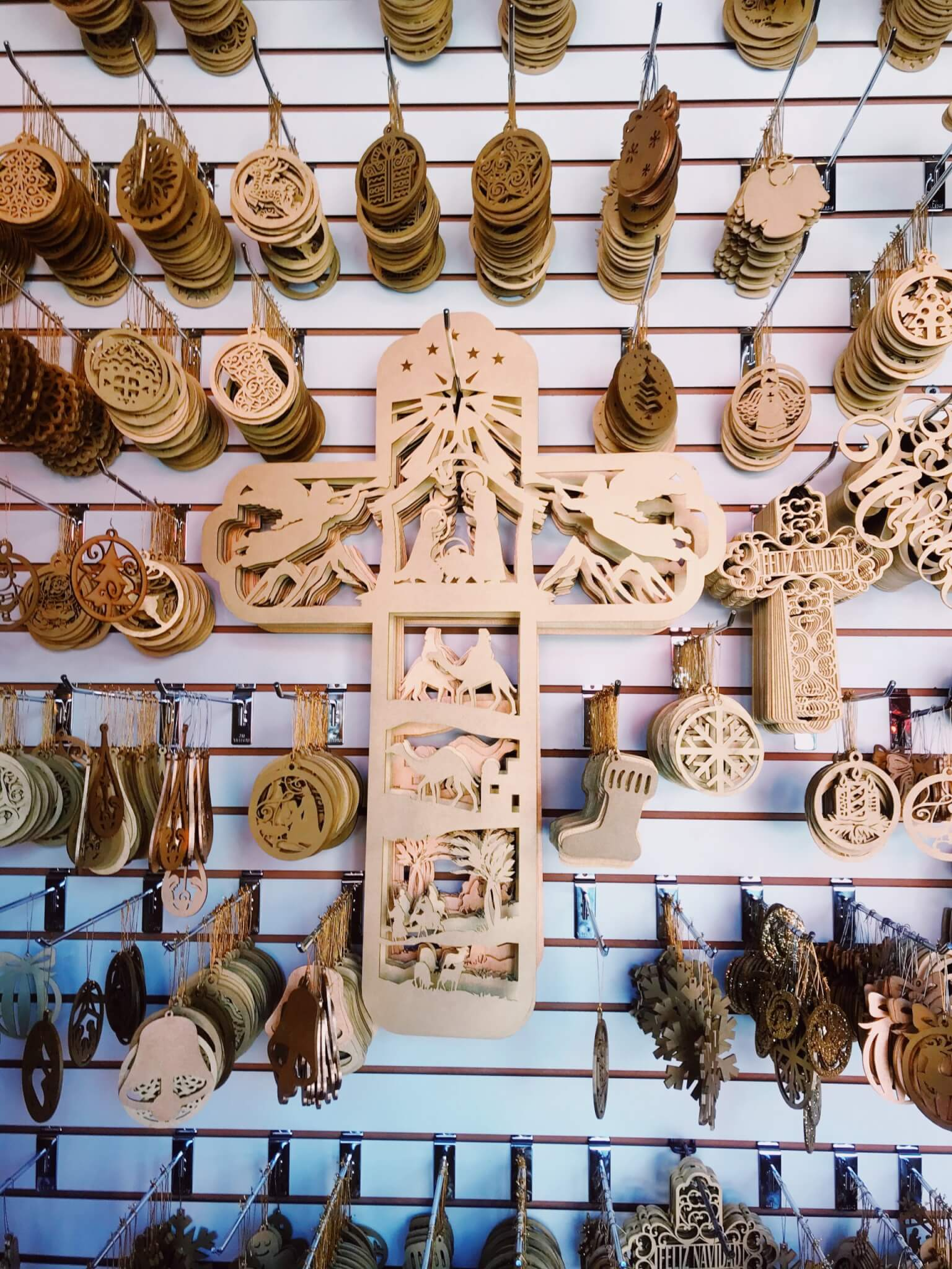 Wooden Christmas Ornaments | Tlalpujahua Mexcio