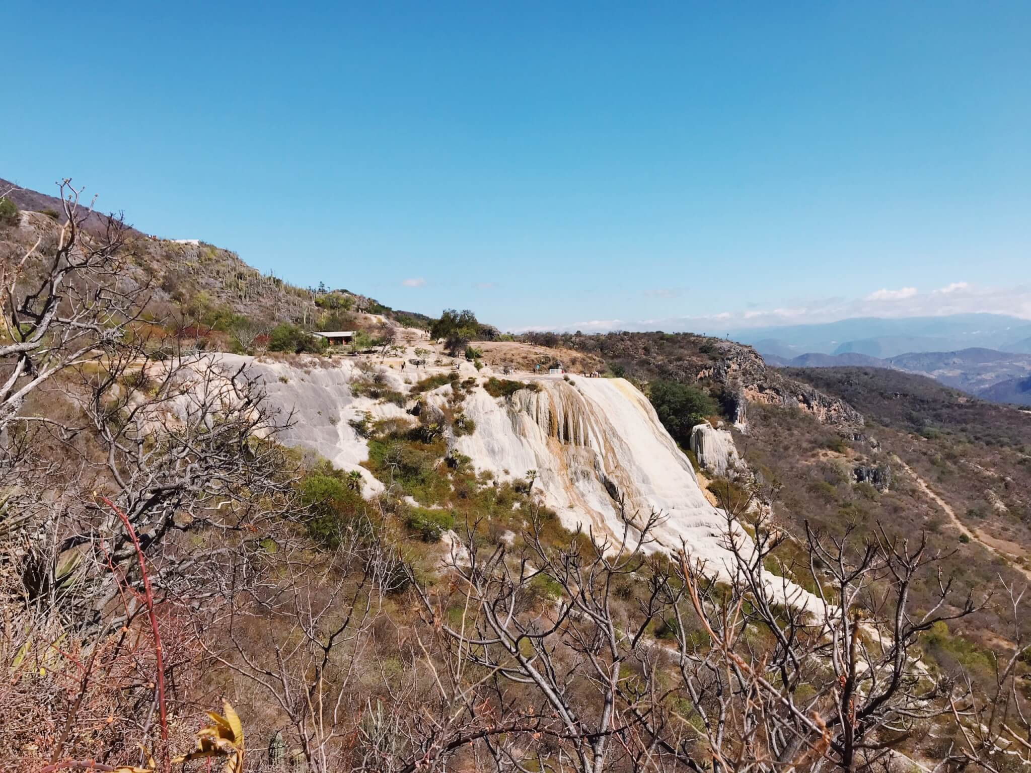 Hierve el Agua Oaxaca | Rock Formations and Natural Mineral Pools