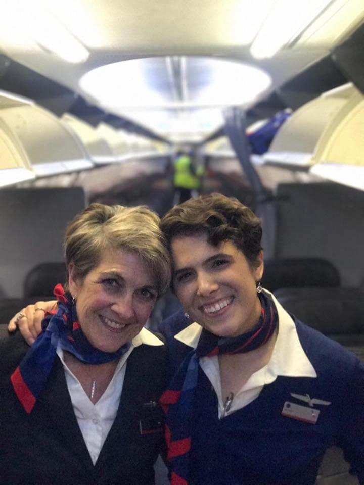 Mother and Daughter Flight Attendants | Flight Attendant Interview