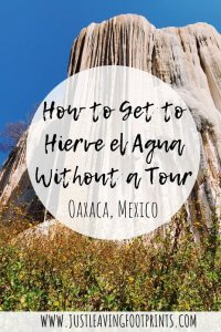 How to Get to Hierve el Agua Oaxaca without a Tour