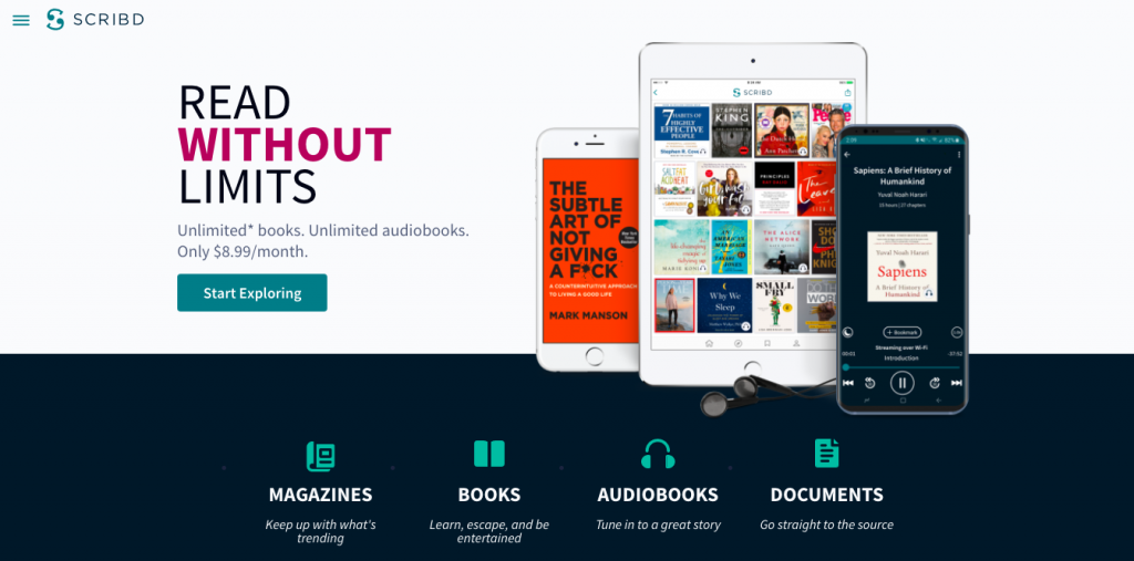 Scribd Unlimited Books Online | Mexican Books