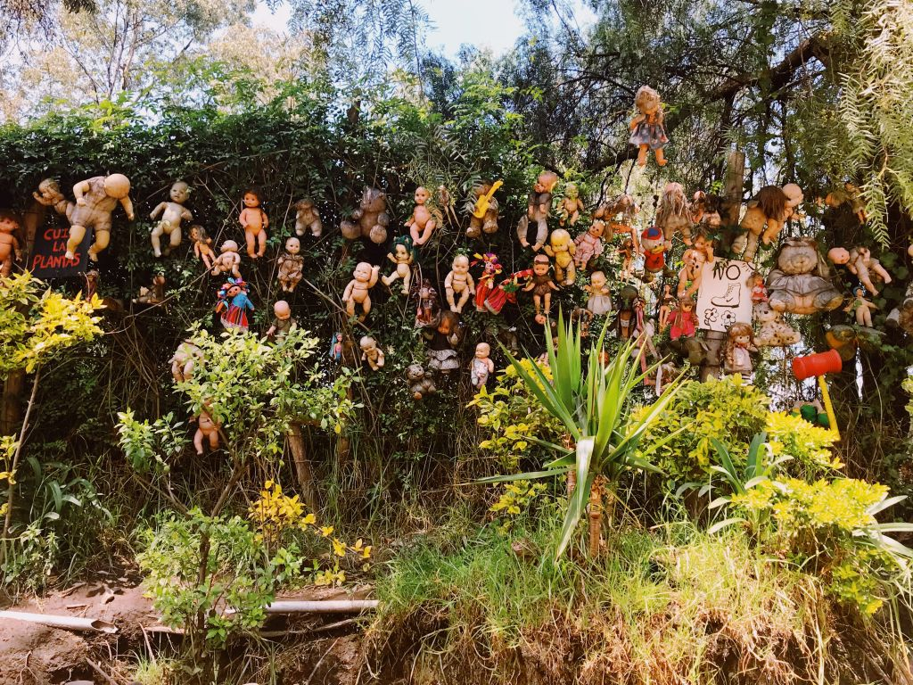 Haunted Doll Island in Xochimilco Mexico City
