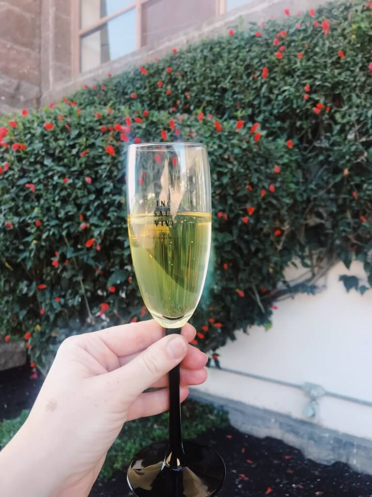 Flute of sparkling wine | Mexican Wine in Querétaro
