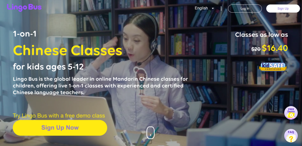 Online Mandarin Classes for Kids with Lingo Bus